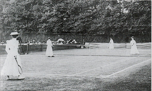 Wimbledon ladies' doubles final 1906